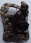 Hobe sterling Bandora Figural - 1943-1946