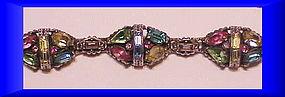 Hollycraft 1955 pastel bracelet