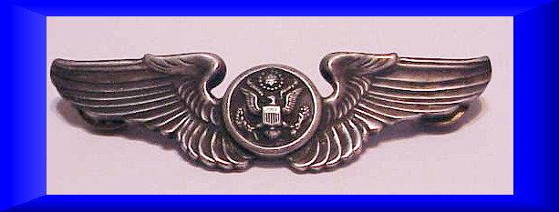 """USAF Air Force air crew wings hat pin  3"""""""
