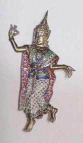 Siam Nielloware sterling Mckkala, Goddess of lightning