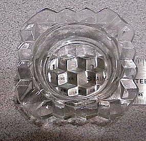 """Fostoria 3"""" square ashtray"""