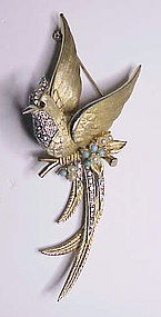 Boucher Bird of Paradise Brooch
