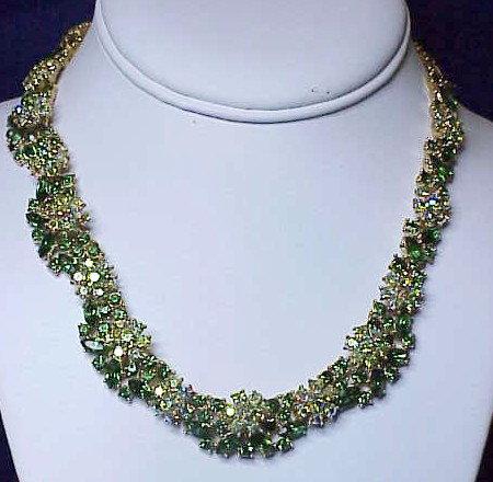 """Trifari 'Memo to a smart woman' necklace-1961-16"""""""