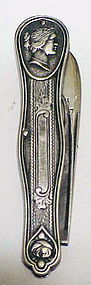 American Coin Silver Fruit knife Circa 1860