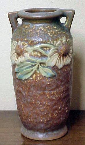 "Roseville ""Dahlrose"" 6"" vase Mold # 363-6 -1928"