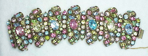 Hollycraft's largest multi color pastel bracelet ever!