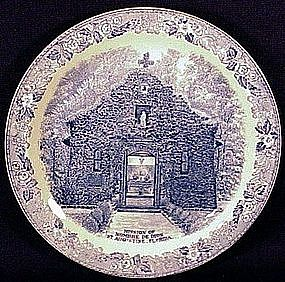 Meakin Staffordshire St. Augustine, Florida plate