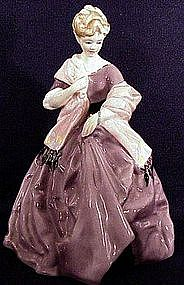 Royal Worcester Freda Doughty Figures First Dance