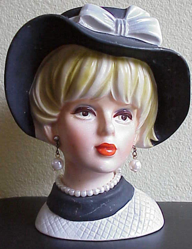 "Headvase Napco C7494  - 6"" tall"