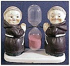 Goebel Friar Tuck egg timer ( Two Friar Tucks )