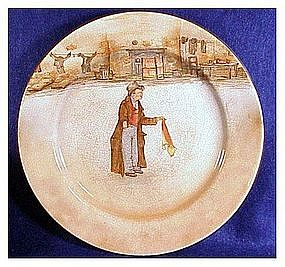 "Royal Doulton Dickensware "" The Artful Dodger"" plate"