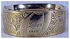 Victorian hinged bangle bracelet (from Lillian 1912)