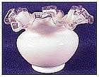 """Fenton silver crest 4 1/2"""" vase"""