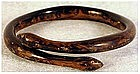 Gold coral snake bracelet (very old & extremely rare)