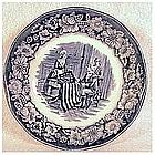 Liberty Blue fruit /sauce/dessert bowl by Staffordshire
