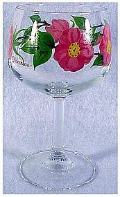 DESERT ROSE   8 oz glassware wine by FRANCISCAN CHINA