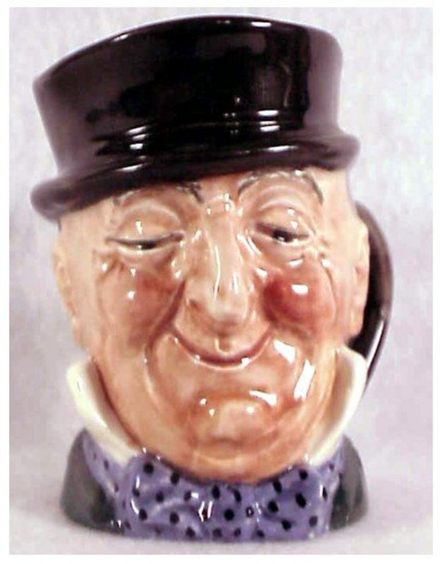 Royal Doulton Mr. Micawber character jug-A Mark 3 1/4""