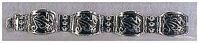 LOS BALLESTEROS sterling bracelet -vintage