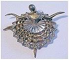 Boucher 'Ballet of Jewels' Prima ballerina pin