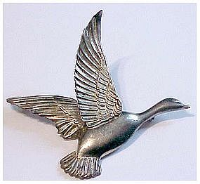 CoroCraft sterling flying goose