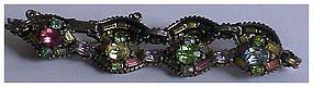 Hollycraft 1955 Pastel Color Bracelet