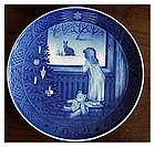 Royal Copenhagen Christmas Plate 1982