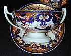 "Coalport porcelain pair sauce tureens, ""King"" pattern"