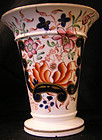 English Porcelain Imari Pattern Vase, possibly Coalport