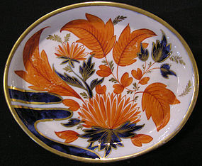 Coalport Tea Tile, Finger and Bow Pattern Variant