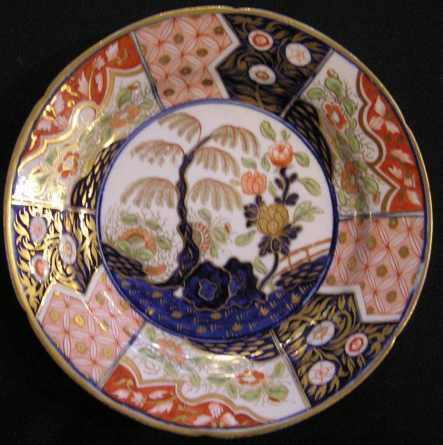 "Coalport Porcelain Dessert Plate, ""Money Tree"" Pattern"