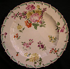 "Chelsea Soft Paste Porcelain Plate ""Duke of Cambridge"""