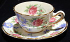 Miniature English Cup & Saucer, Foley, Ca 1900