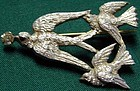 Brooch of rare aluminum, Ca 1850