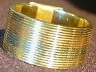 Ring: 14K band of 4-color gold c1930