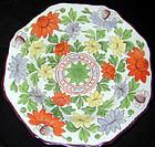 Ridgeway porcelain dessert plate, circa 1825