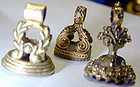 Miniature Fob Seals with names. We have an Emily,Clara