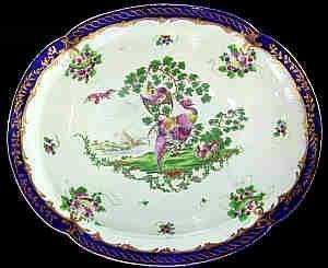 Worcester Dr. Wall soft paste compote, Ca 1775