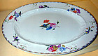 Mason's ironstone platter, design influenced by Meissen