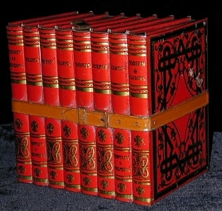 """Biscuit tin - Huntley & Palmers """"Library"""""""