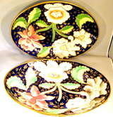 Antique Newhall Porcelain Dish
