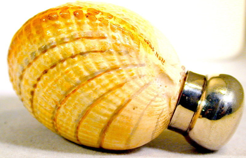 Antique Shell Shaped Scent Bottle