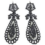 Antique Pair of Berlin Iron Earrings, 1810