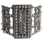 Antique Georgian Cut Steel Link Bracelet, c1800