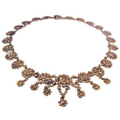Antique Cut Steel Necklace