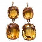 C1830 18K Citrine  Earrings