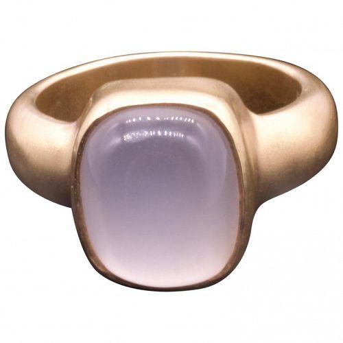 C1950 14K MOONSTONE RING