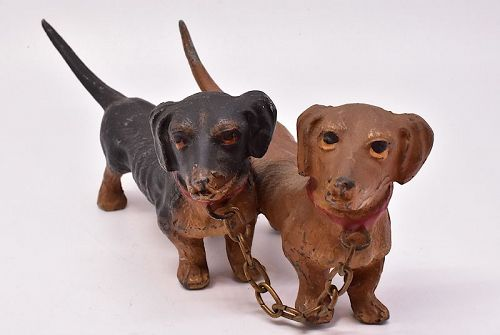 C1880 dachshound AUSTRIAN BRONZE