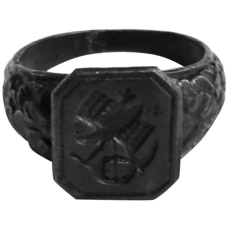 Berlin Iron Signet Ring, C.1815