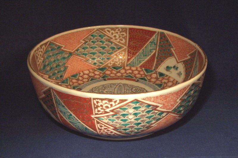 19th Century Japanese Imari Porcelain Bowl