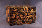 Japanese Edo Period Rimpa School Lacquer Box